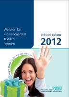 Edition Colour Werbeartikel 2012