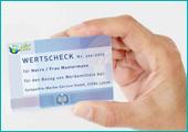 Wertscheck-System